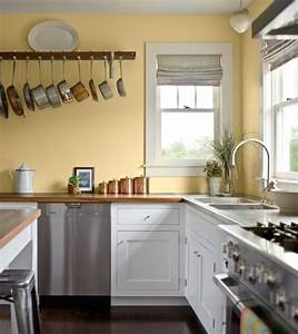 Excellent kitchen kitchen wall colors with white cabinets for Kitchen colors with white cabinets with plier papier