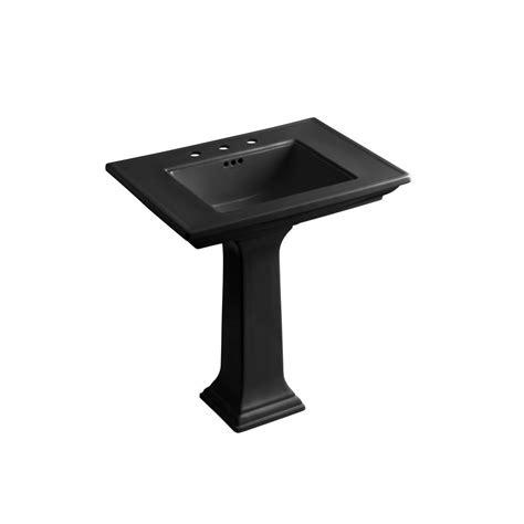 kohler memoirs ceramic pedestal bathroom sink combo with 8
