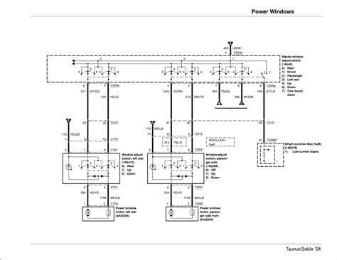 2004 Ford Tauru Se Wiring Diagram by Wiring Diagrams Page 10 Taurus Car Club Of America