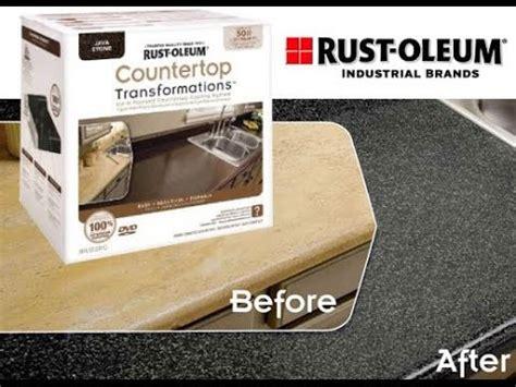 rustoleum countertop transformations rust oleum countertop transformation how to and review