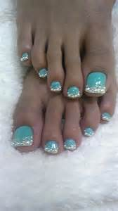 Toe nail designs with glitter best art design