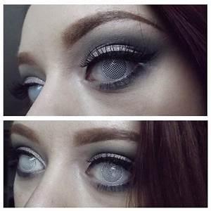 White Mesh Eye Contacts | www.pixshark.com - Images ...