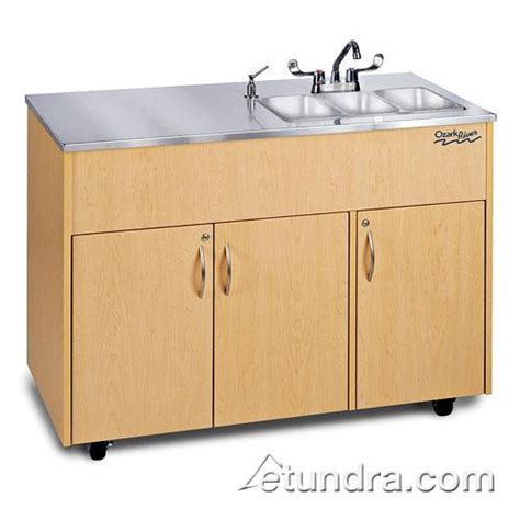 Ozark River Portable Sinks by Ozark River Adavm Ss Ss3n Silver Advantage Series
