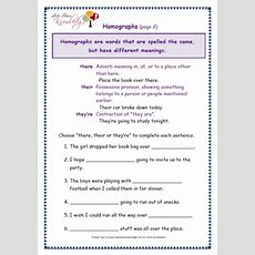 Grade 3 Grammar Topic 26 There, Their, They're Worksheets  Lets Share Knowledge