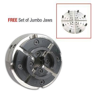 utility grip  jaw chrome lathe chuck system wood lathes