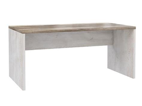 bureau basika bureau duro meuble de bureau pin blanc chene antique l 140