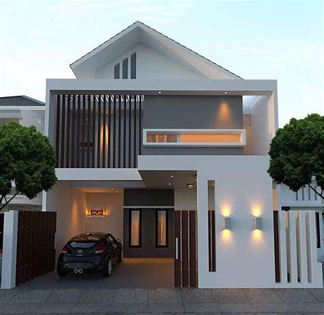 rumah minimalis simple dan elegan model desain rumah minimalis type 45 1 lantai elegan