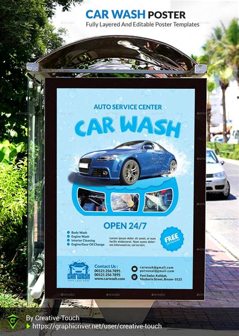 car wash advertising bundle vol  creative touch graphicriver
