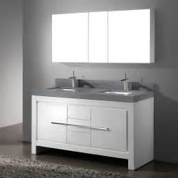 Modern Bathroom Vanity Closeout by Madeli Vicenza Glossy White 60 Quot Modern Sink