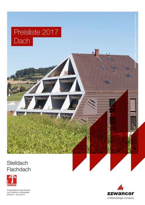 wienerberger preisliste 2017 preisliste dach 2017 steildach flachdach pdf by wienerberger ag issuu