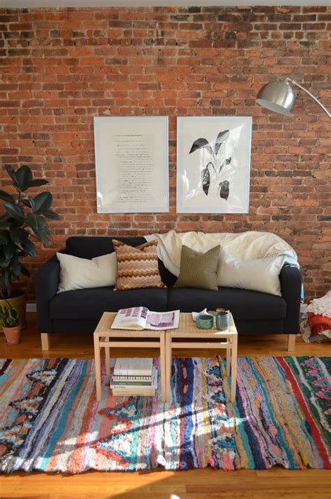 eye catching rooms  exposed brick walls loombrand