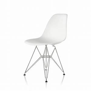 Eames Plastic Side Chair : eames molded plastic side chair wire base by charles ray eames for herman miller up interiors ~ Bigdaddyawards.com Haus und Dekorationen