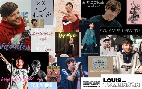 one direction aesthetic wallpaper laptop