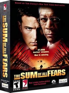 The Sum of All Fears (video game) - Wikipedia