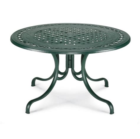 telescope casual 48 inch cast aluminum table