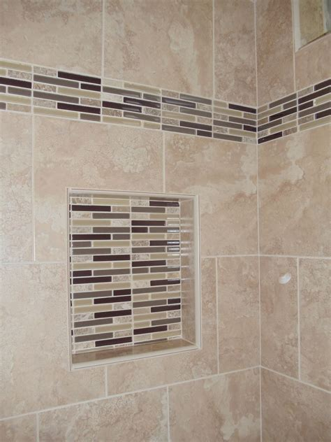 simple   shower niche insert home ideas collection