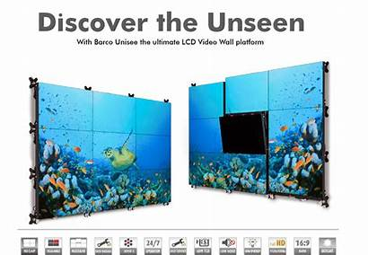 Barco Unisee Wall Lcd Unseen Discover Overview
