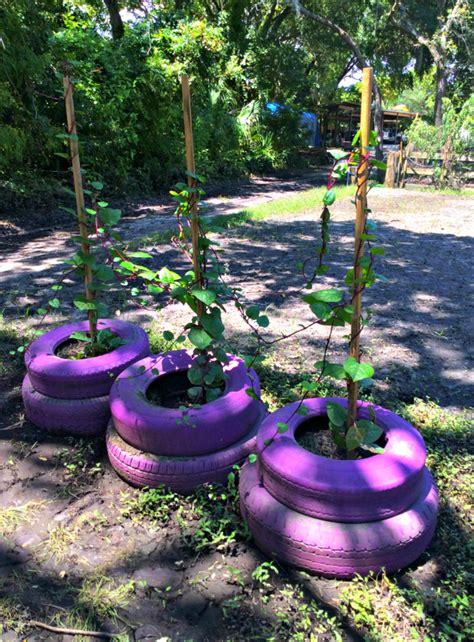 Alte Autoreifen Im Garten kreative gartentipps pflanzencontainer aus alten autoreifen