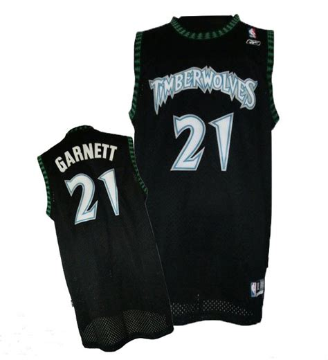 timberwolves  retro garnett black jerseys cheap sale