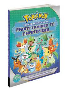 Pokémon Trainer Activity Book: From Trainer to Champion