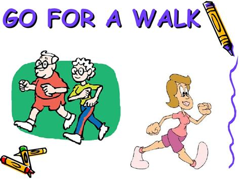 To Go For A Walk Clipart  Wwwpixshark Images