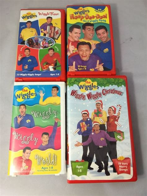 details about lot of vhs the wiggles hoop doo ideas vhs the