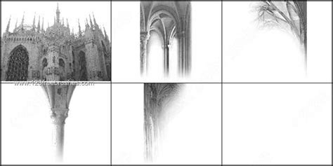 Architecture Gothic Free Brushes Set