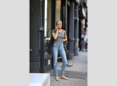 7 Ways to Style TShirt and Straight Leg Jeans Capsule