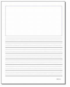 Cursive Writing Paper Printable - Floss Papers