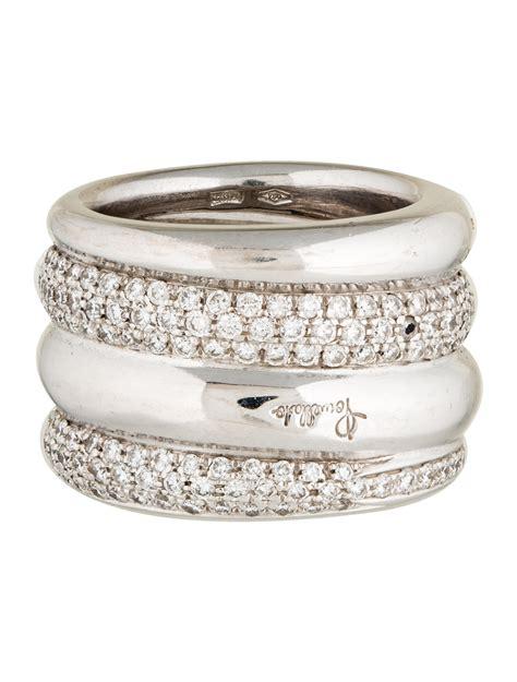 pomellato jewellery pomellato pav 233 tubolare ring rings pom20520