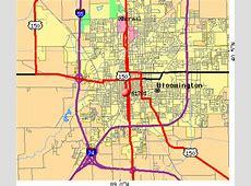 Bloomington Il Zip Code Map Zip Code Map