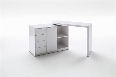 bureau blanc moderne bureau moderne blanc avec rangement novomeuble