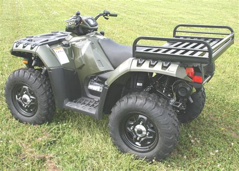 atv rack accessories mighty lite rear rack great day inc