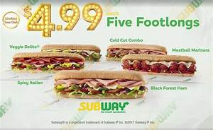 Subway Coupons 🛒 Shopping Deals & Promo Codes January 2020
