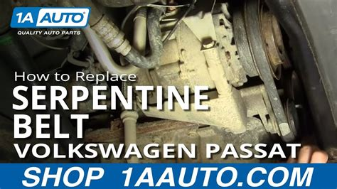 install replace alternator power steering engine