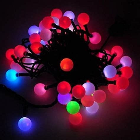 color changing led christmas lights led color changing linkable 16 feet christmas light string