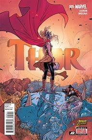 Marvel Thor Comic Cover