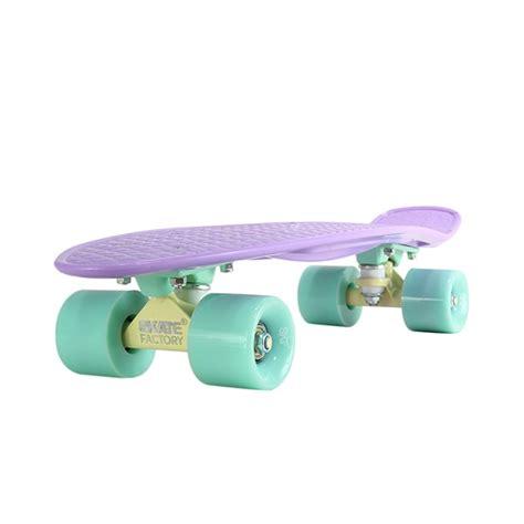 Patineta Miniskate Tipo Penny Skate Factory Skaties Morada