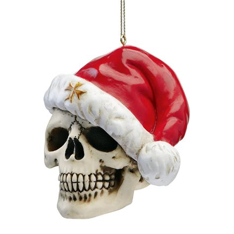 merry christmas skulls