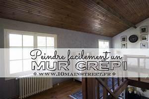peindre un mur crepi a l39interieur de votre maison facilement With peindre un mur interieur