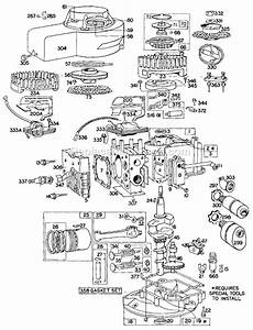 Briggs And Stratton 60900 Series Parts List And Diagram
