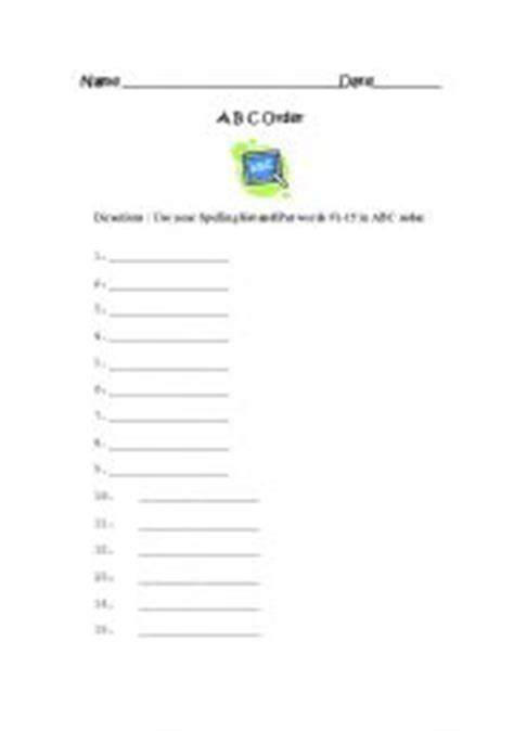 alphabetical order worksheet generator driverlayer search engine