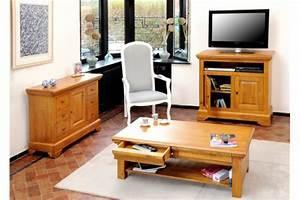 Meuble Salon Bois : meubles de salon en bois hellin ~ Teatrodelosmanantiales.com Idées de Décoration