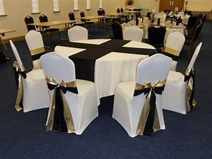 Example of Duo Sashes - Beau Events Chair Covers Specialist