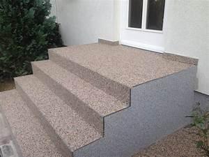 Buntsteinputz Außen überstreichen : treppe steinteppich mx protec ~ Michelbontemps.com Haus und Dekorationen