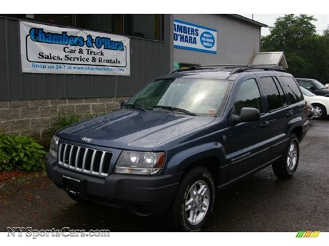 blue jeep grand cherokee 2004 2004 jeep grand cherokee laredo 4x4 in steel blue pearl