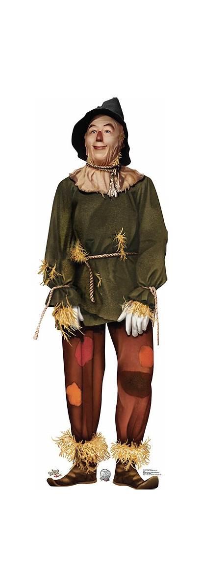 Scarecrow Oz Wizard Cardboard Lion Cowardly Cutouts