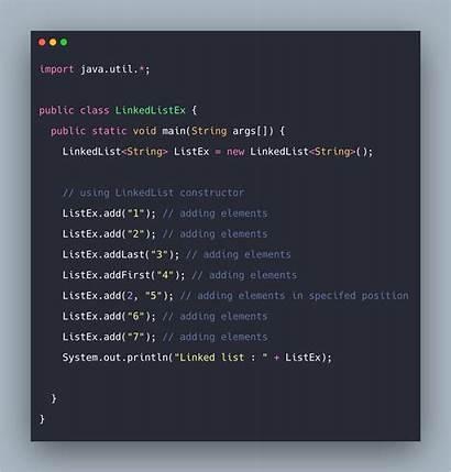 Java Example Linkedlist Tutorial