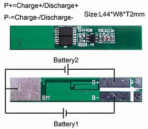 Protection Circuit Module 2s 5a Bms Pcm Pcb Battery