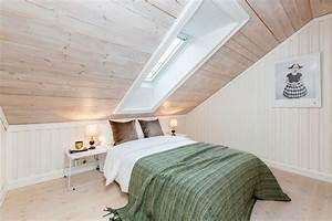 Chambre mansardee 28 idees d39amenagement et de deco for Amenagement chambre ado avec pose de moustiquaire sur fenetre